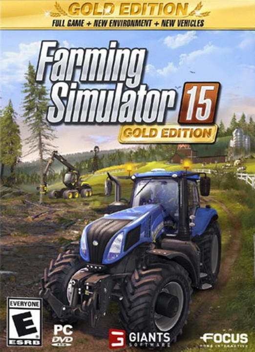 Farming Simulator 15: Gold Edition [v 1.4.2 + DLC's] (2014) PC
