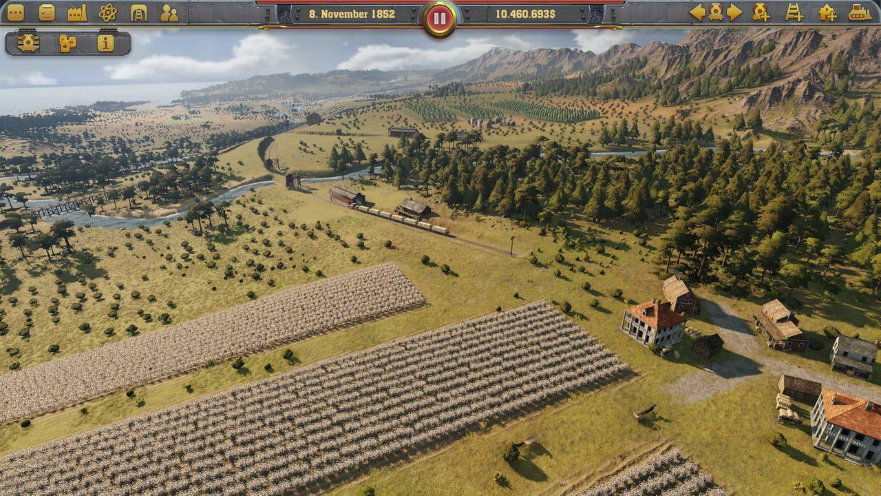 Скриншот Railway Empire [+ 3 DLC] (2018) PC