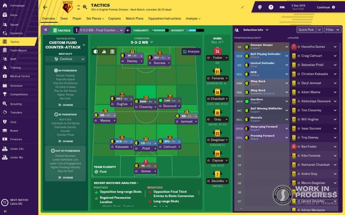 Скриншот Football Manager 2019 (2018) PC