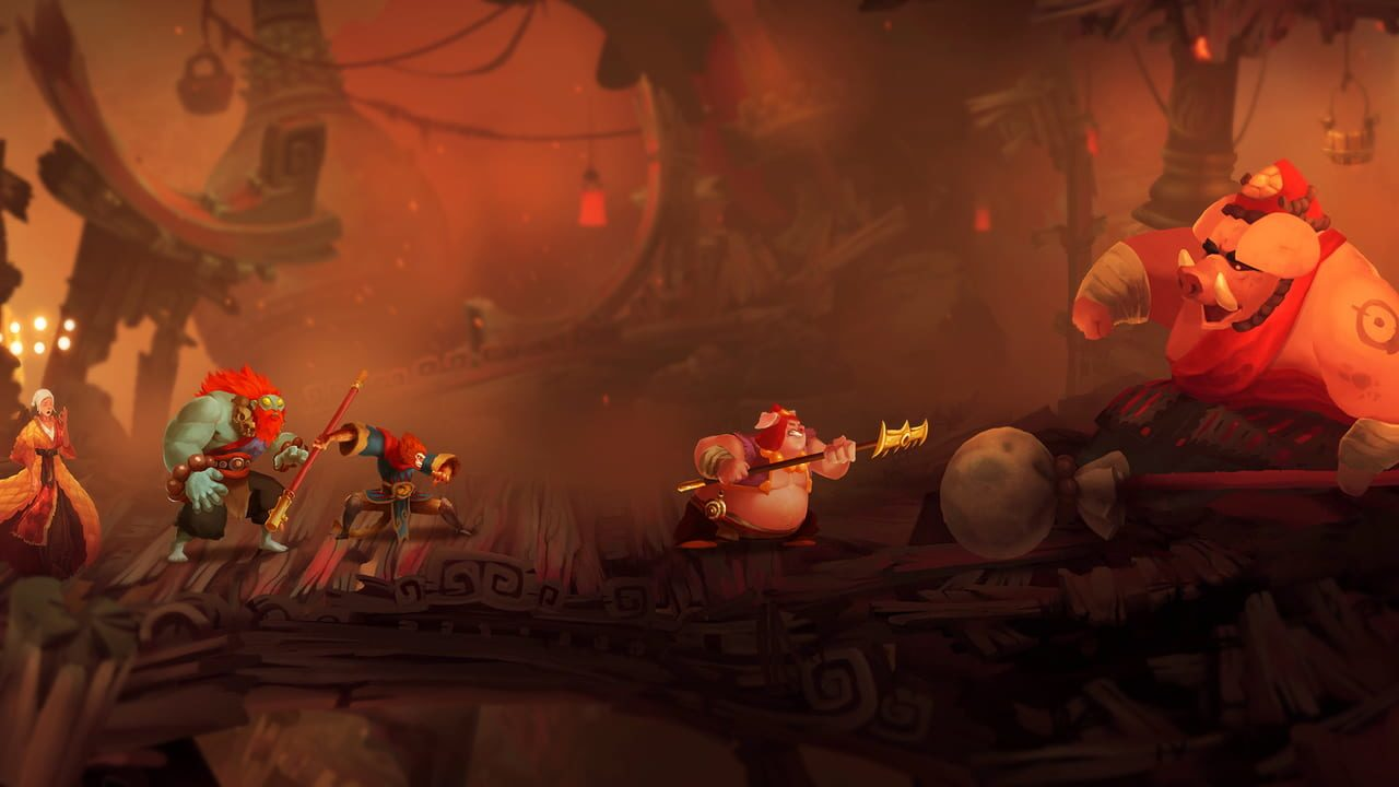 Скриншот Unruly Heroes (2019) PC