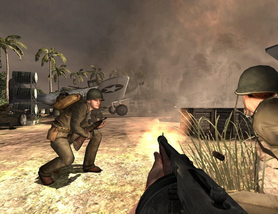 Скриншот Medal of Honor: Pacific Assault (2004) PC