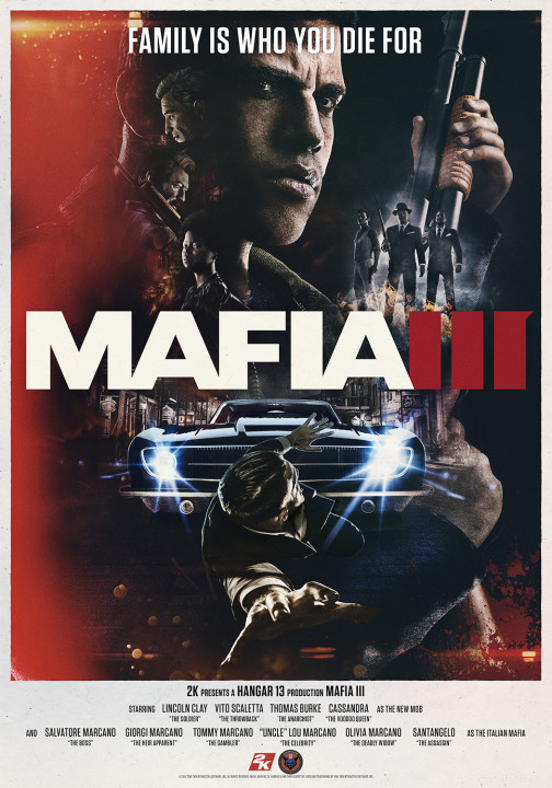 Мафия 3 / Mafia III - Digital Deluxe Edition [v 1.090.0.1 + 6 DLC]