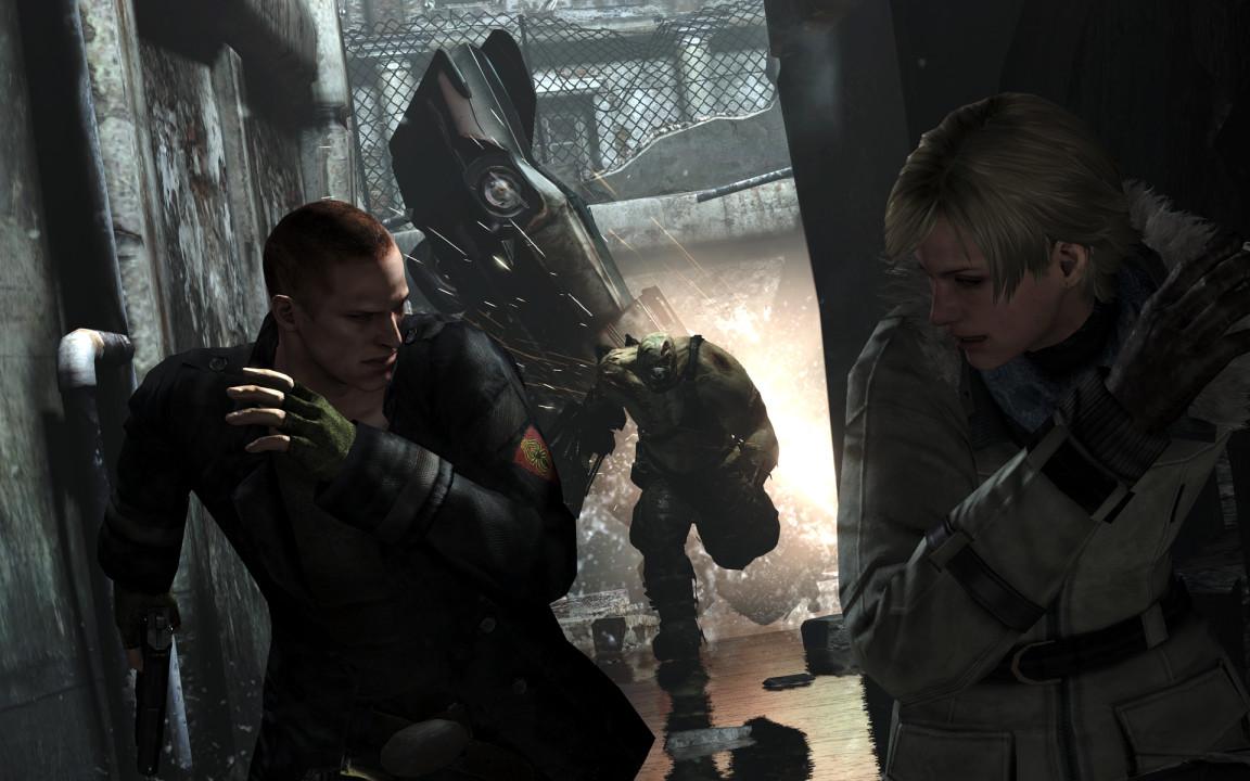Скриншот Resident Evil 6 [v 1.0.6 + DLC] (2013) PC