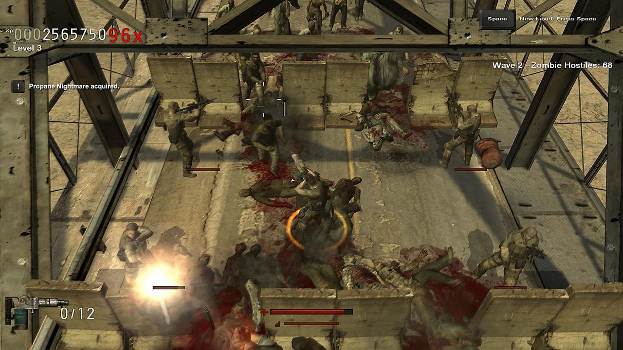 Скриншот Зомбилэнд / Nation Red (2009) PC