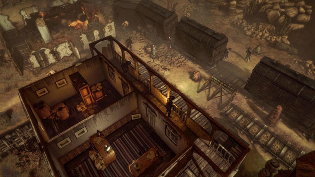 Скриншот Hard West: Collector's Edition (2015) PC