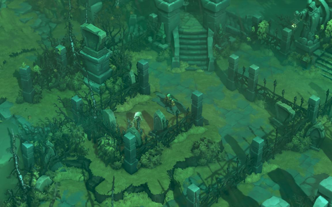 Скриншот Battle Chasers: Nightwar (2017) PC