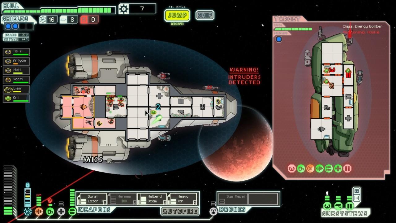 Скриншот FTL: Faster Than Light [v 1.5.13] (2012) PC | RePack от R.G. Механики
