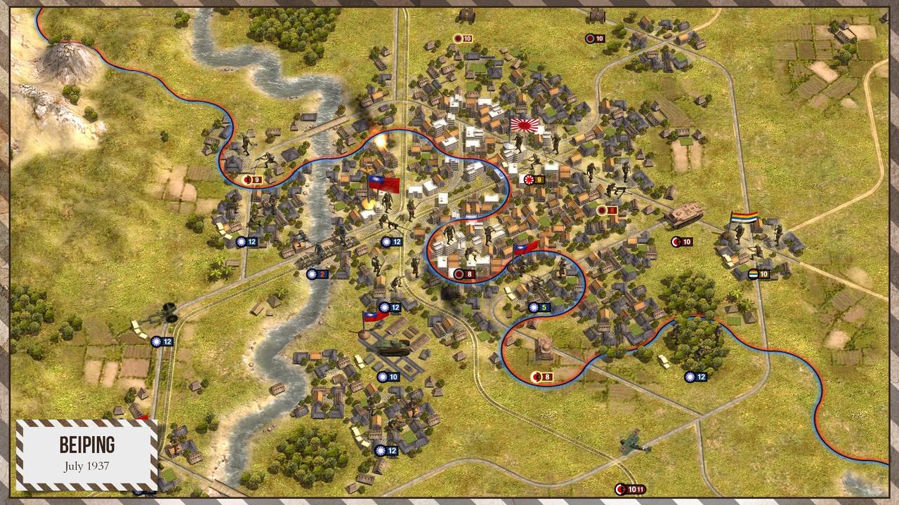 Скриншот Order of Battle: World War 2 [v.6.1.7 + 10 DLC] (2016) PC