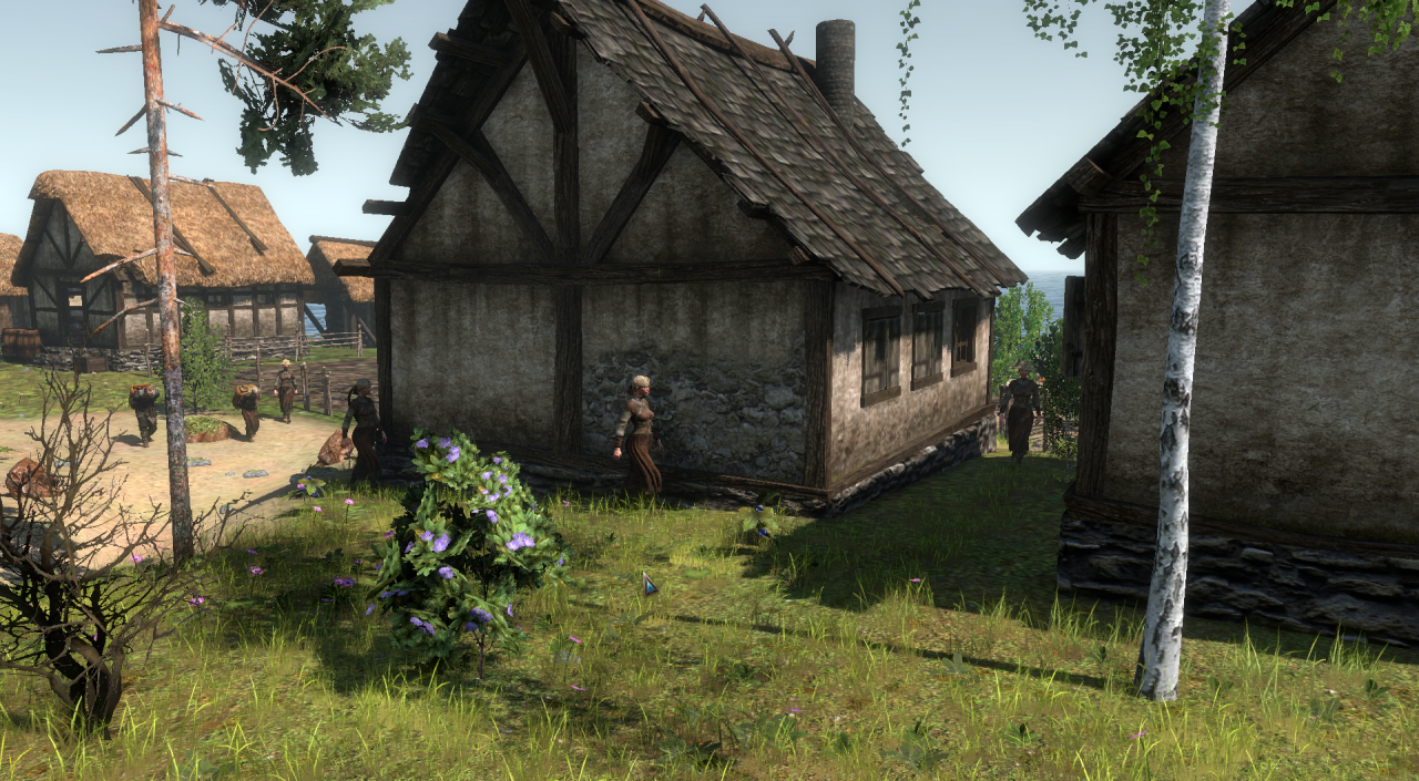 Скриншот Life is Feudal: Forest Village [v 1.0.6192] (2017) PC
