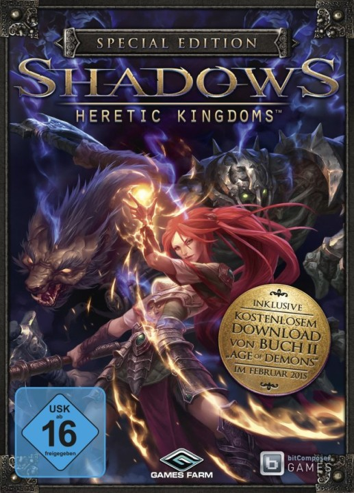 Shadows: Heretic Kingdoms - Book One. Devourer of Souls [v 1.0.0.8183] (2014) PC | RePack от R.G. Механики