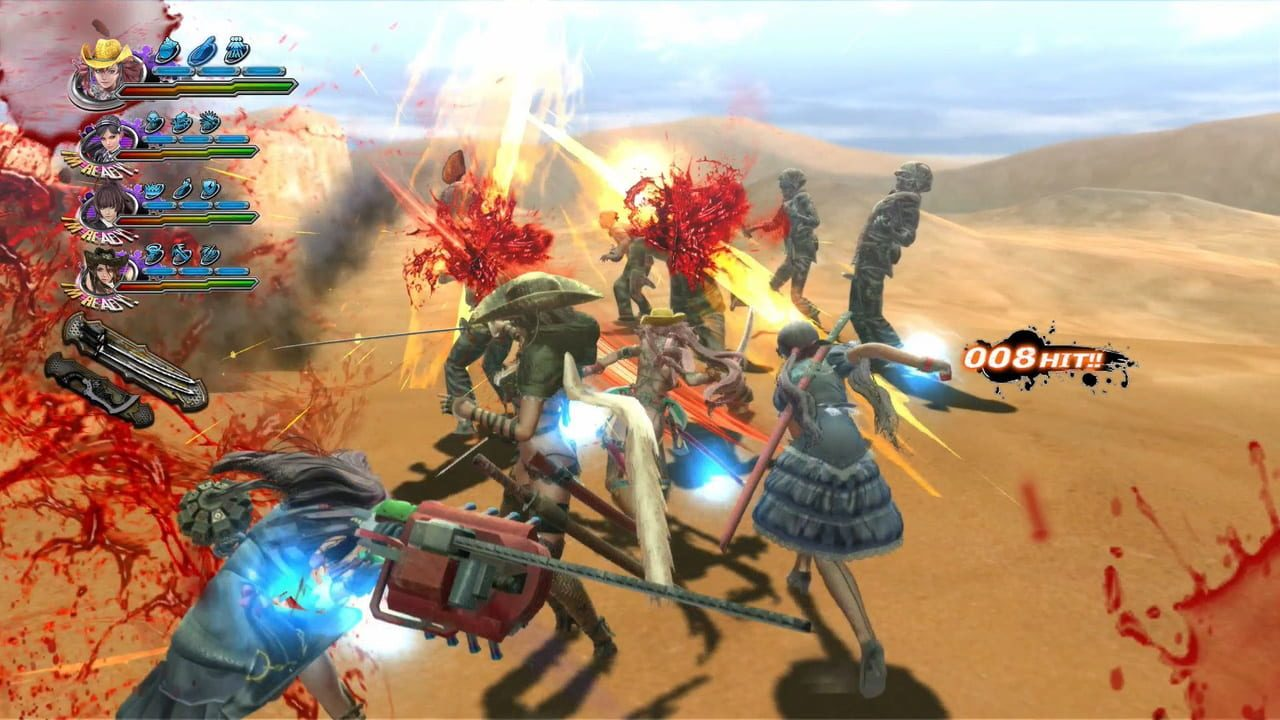 Скриншот Onechanbara Z2: Chaos (2014) PC