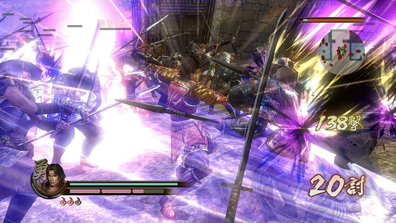 Скриншот Samurai Warriors 2 (2008) PC