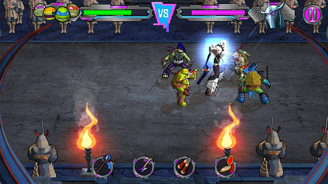 Скриншот Teenage Mutant Ninja Turtles: Portal Power (2017) PC