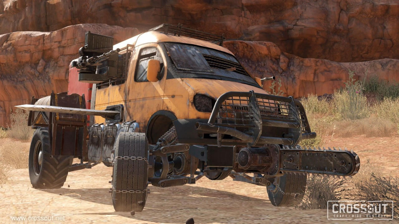Скриншот Crossout (2017) PC