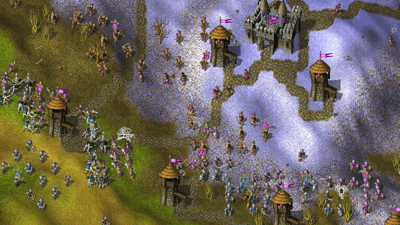 Скриншот Война и Мир: Антология / Knights and Merchants: Anthology (1998-2001) PC | RePack от R.G. Механики