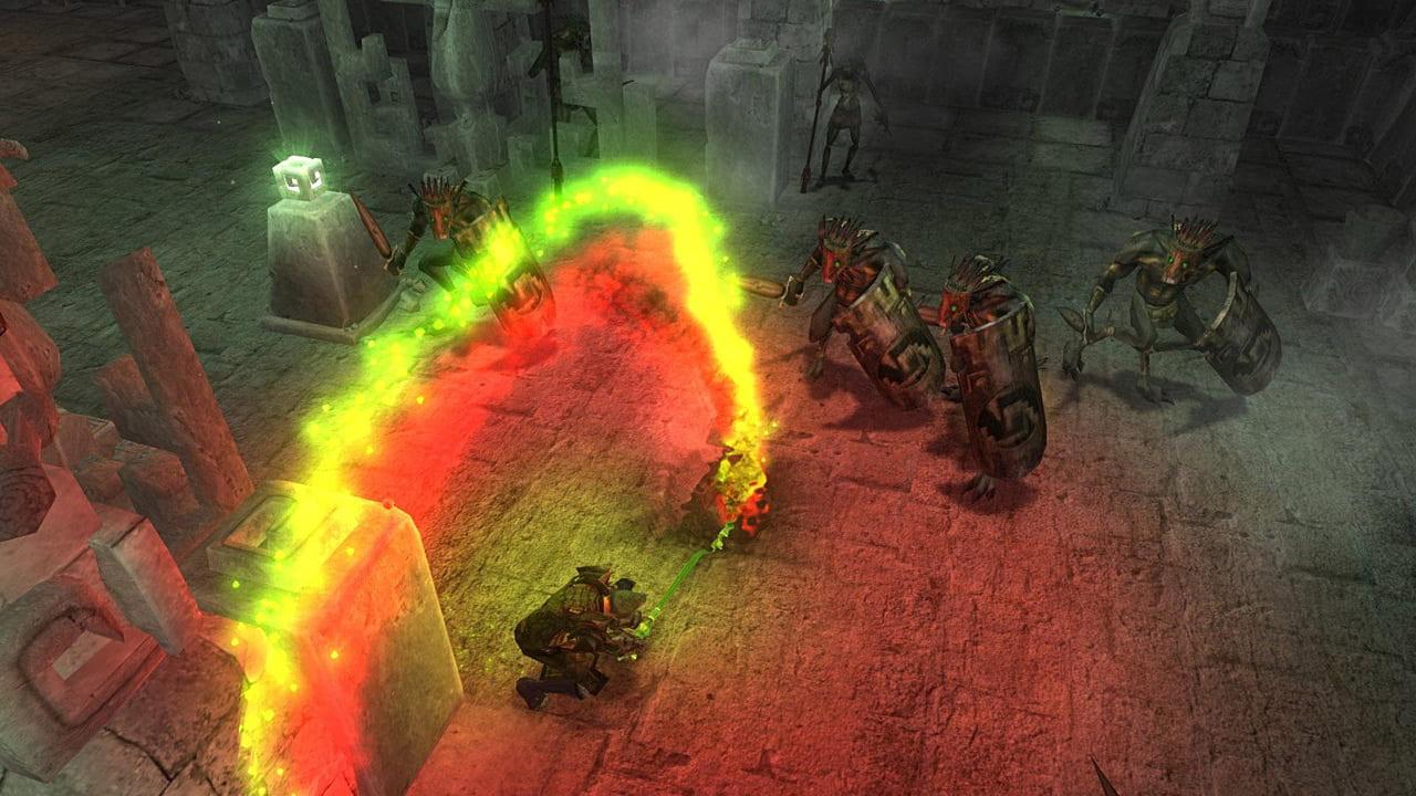 Скриншот Avencast: Rise of the Mage (2008) PC