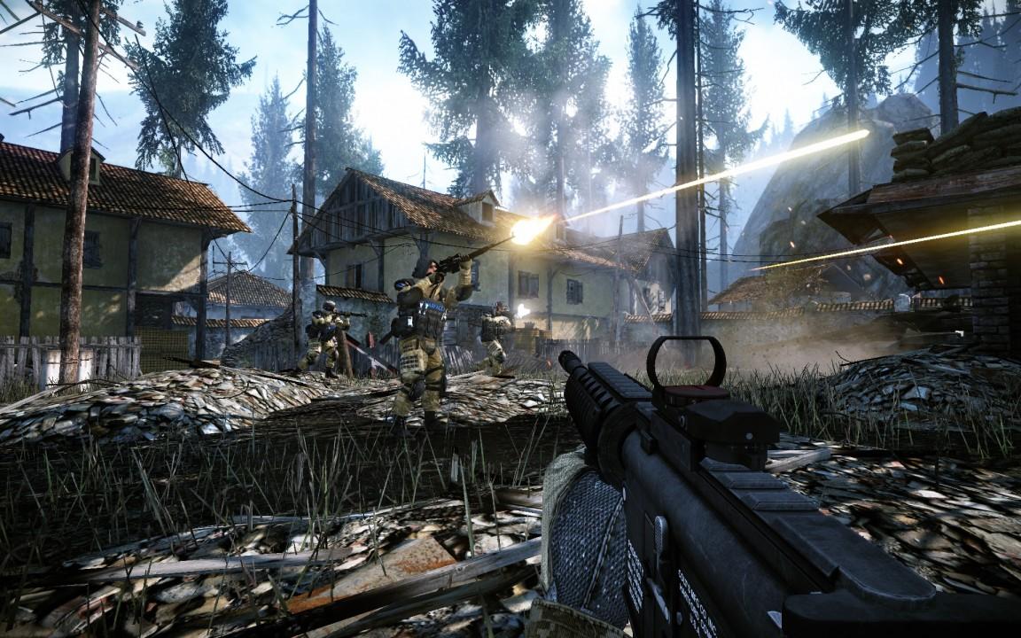 Скриншот Warface  (2012) PC - лучшая онлайн стрелялка для слабых ПК