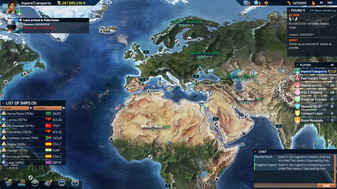 Скриншот TransOcean 2: Rivals (2016) PC
