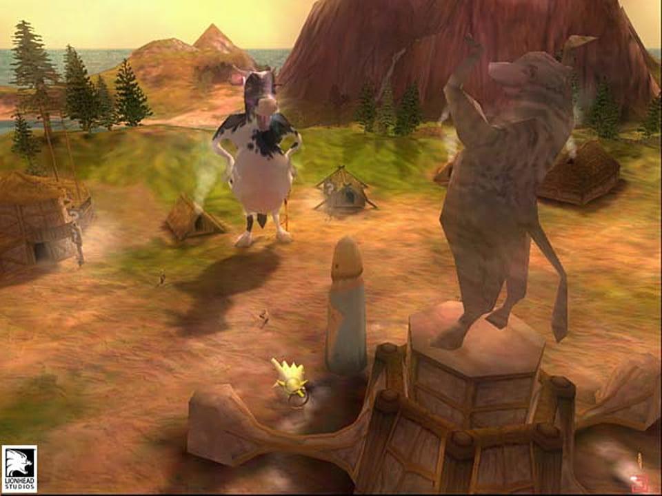 Скриншот Black & White (2001) PC