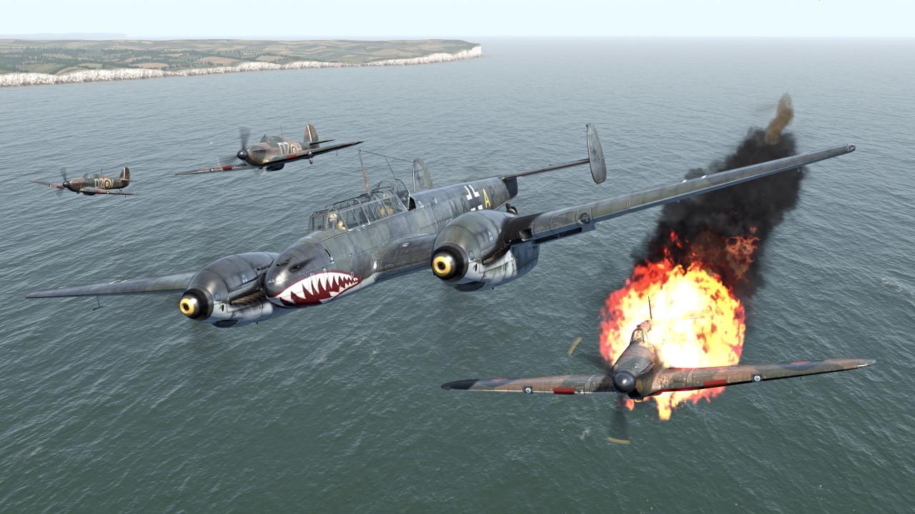 Скриншот IL-2 Sturmovik: Cliffs of Dover - Blitz Edition (2017) PC