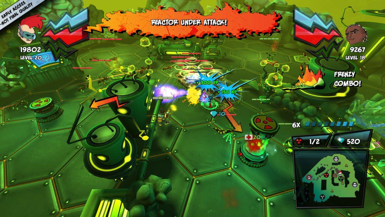 Скриншот ZAMB! Endless Extermination (2019) PC