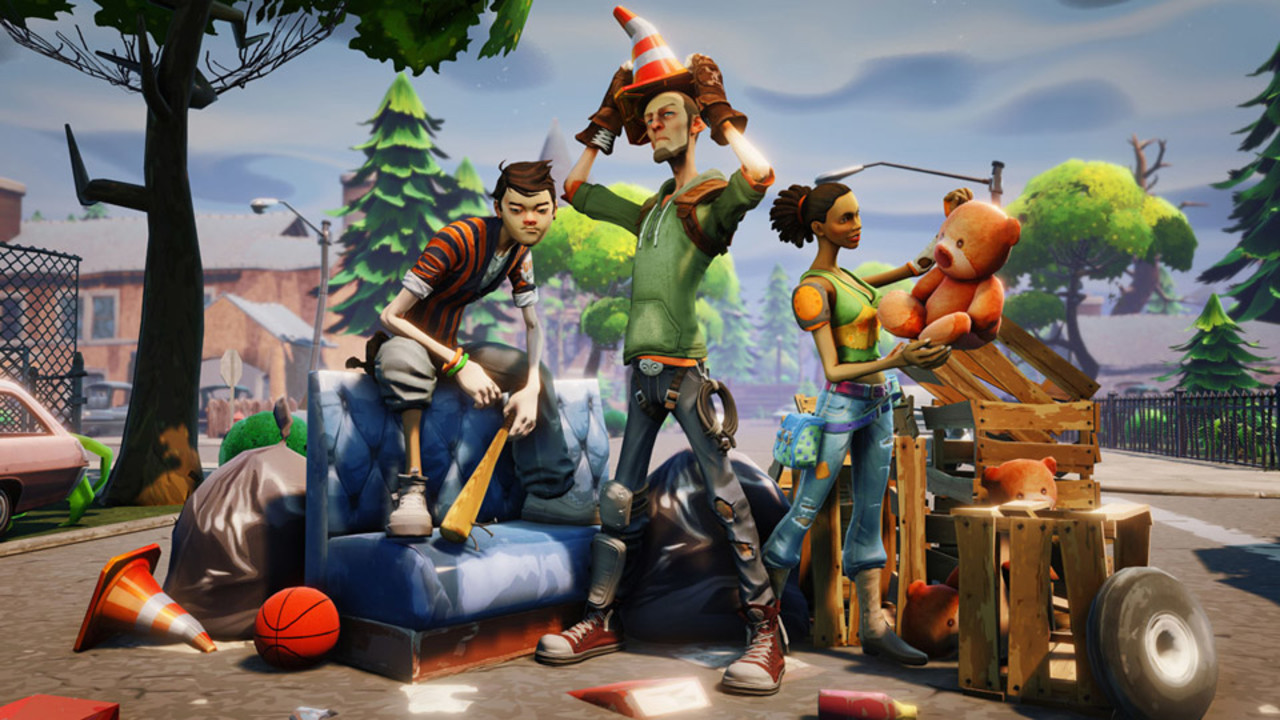 Скриншот Fortnite [1.7.2] (2017) PC | Online-only
