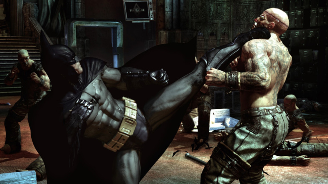 Скриншот Batman: Arkham Asylum - Game of the Year Edition (2010) PC