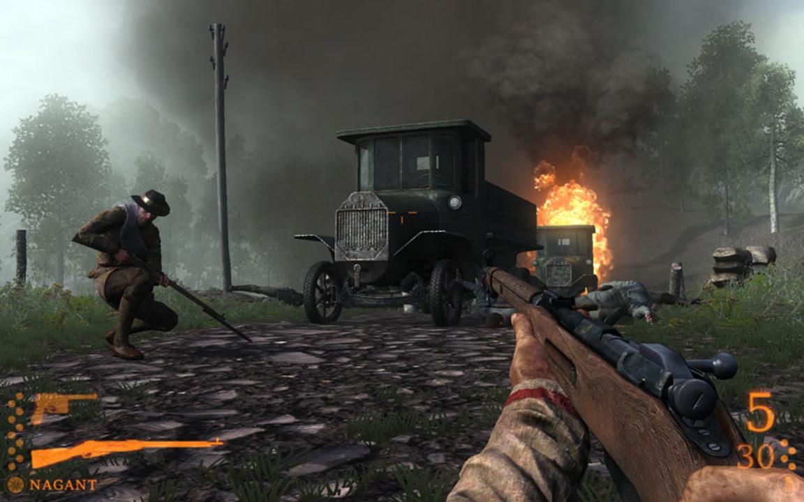 Скриншот Darkest of Days: Самый черный день (2009) PC   RePack от R.G. Механики