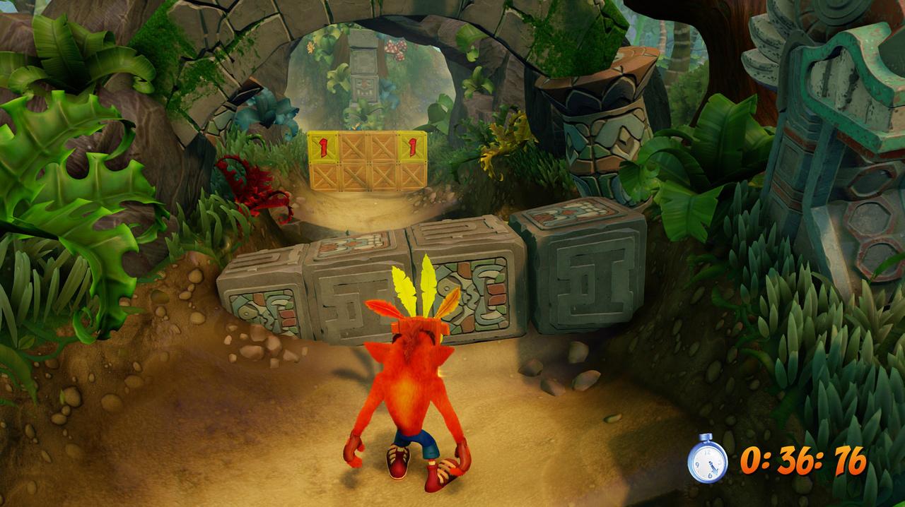 Скриншот Crash Bandicoot N. Sane Trilogy (2018) PC