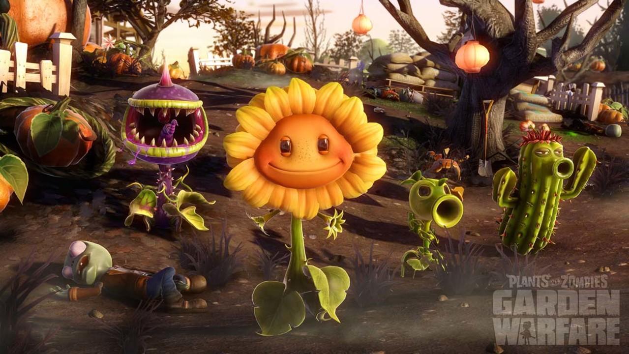 Скриншот Plants vs Zombies: Garden Warfare (2014) PC