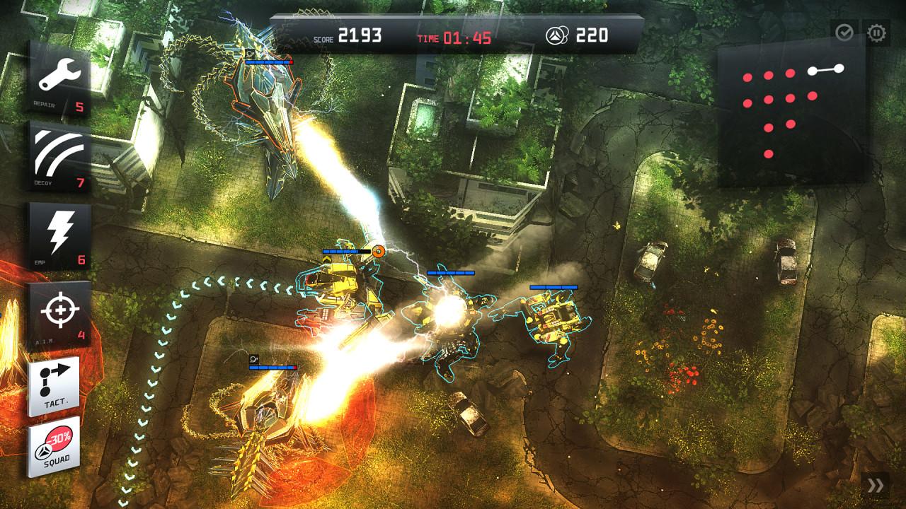 Скриншот Anomaly: Trilogy (2011-2014) PC   RePack от R.G. Механики
