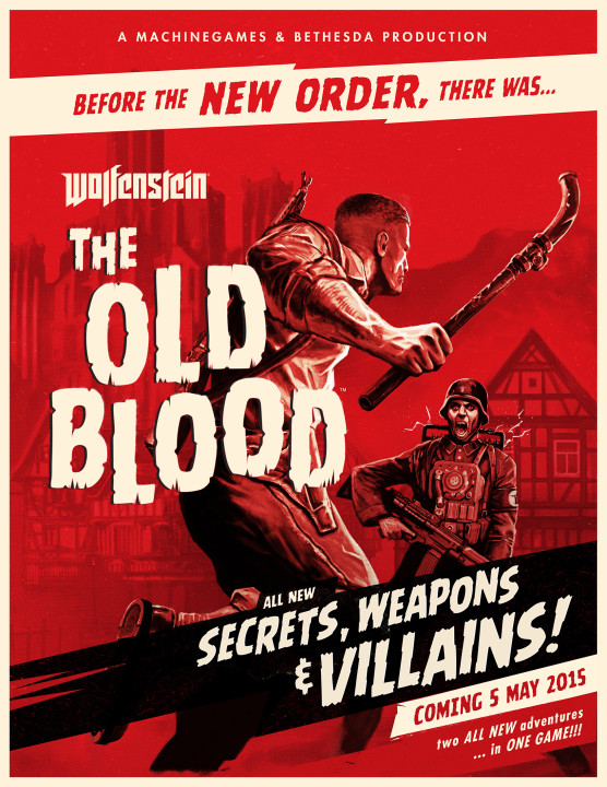 Wolfenstein: The Old Blood [Update 1] (2015) PC | RePack от R.G. Механики