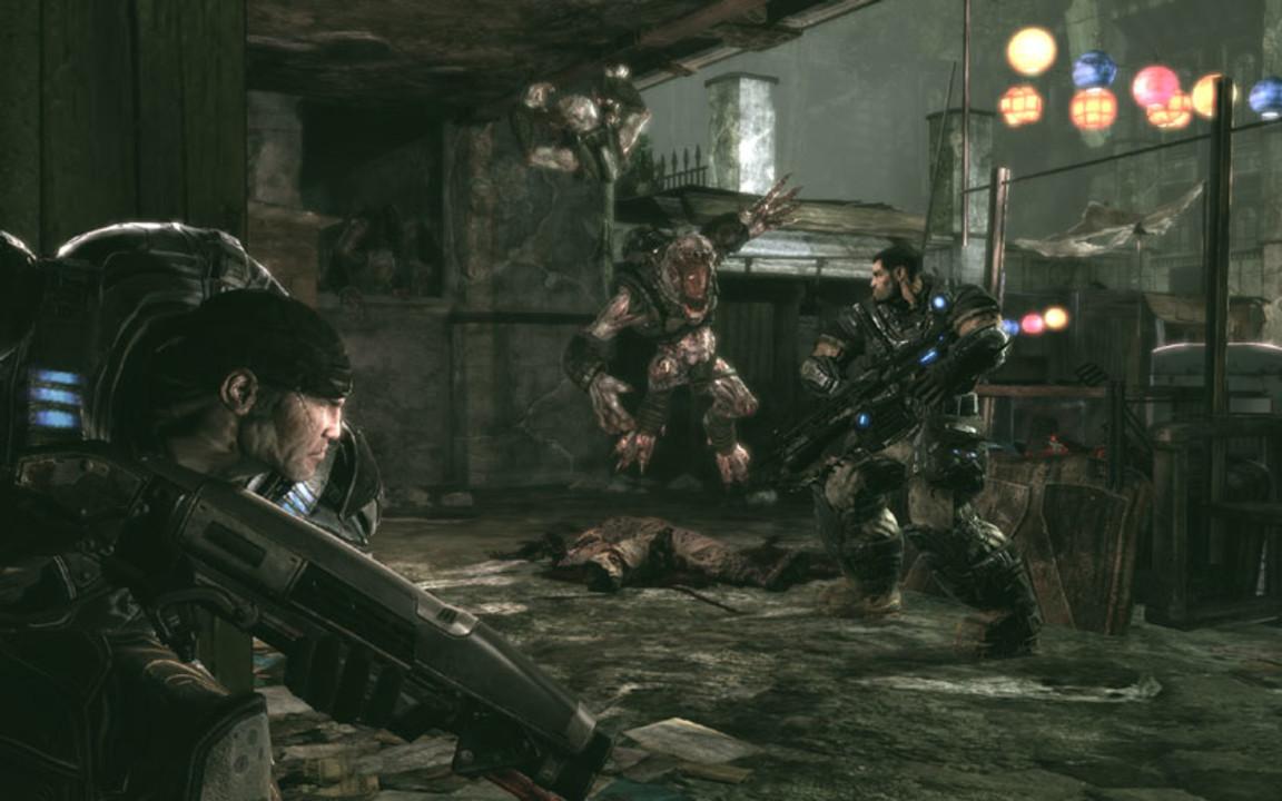Скриншот Gears of War (2007) PC | RePack от R.G. Механики