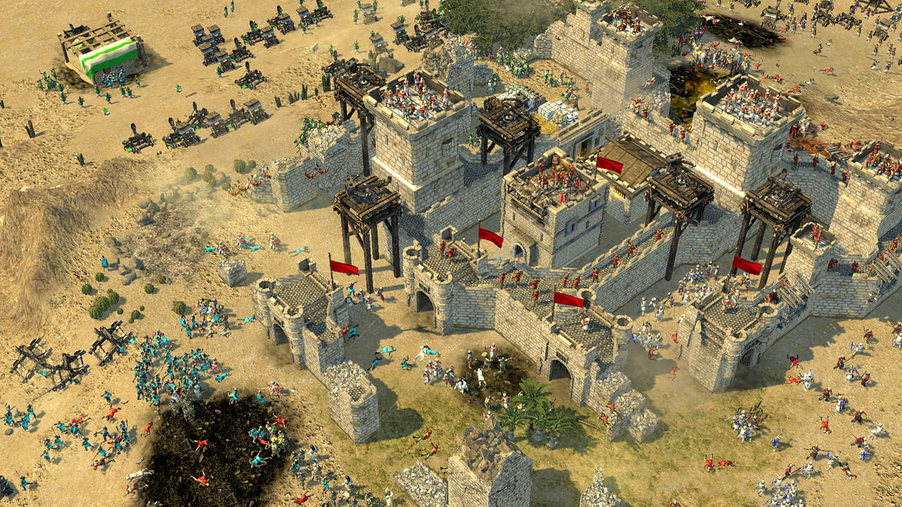 Скриншот Stronghold Crusader 2: Special Edition [v 1.0.22714 + DLCs] (2014) PC