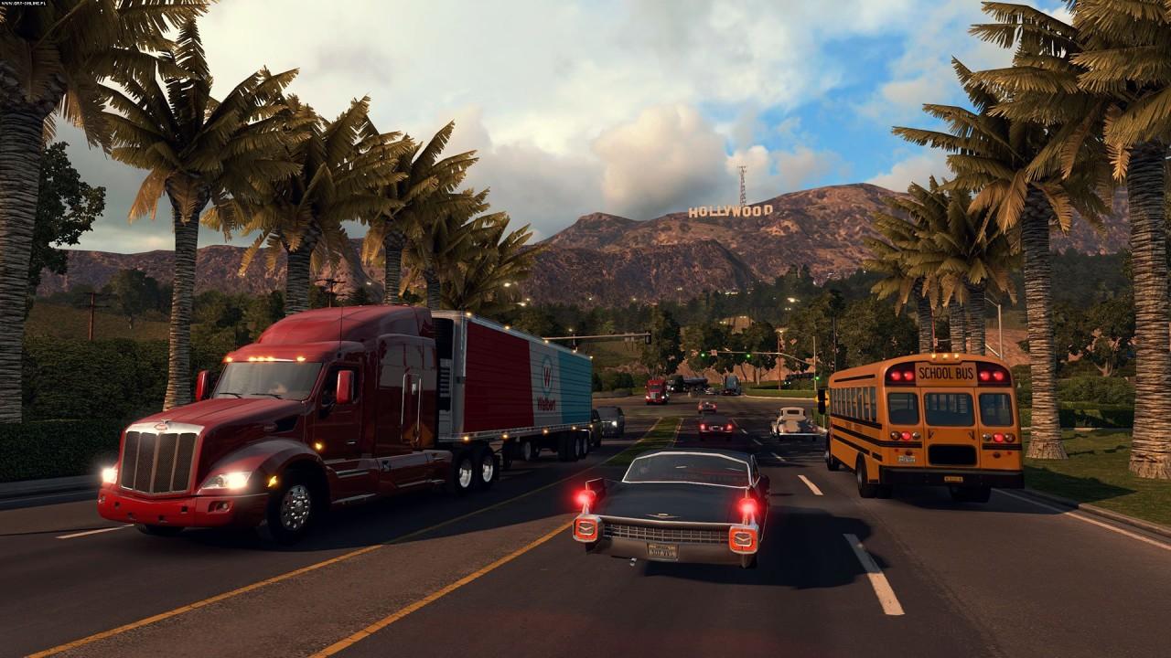 Скриншот American Truck Simulator [v 1.6.2.4s + 14 DLC] (2016) PC   RePack от R.G. Механики