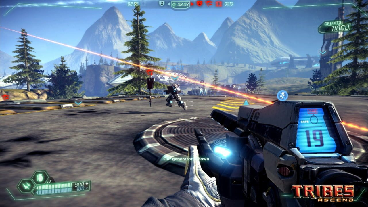 Скриншот Tribes: Ascend (2011) PC