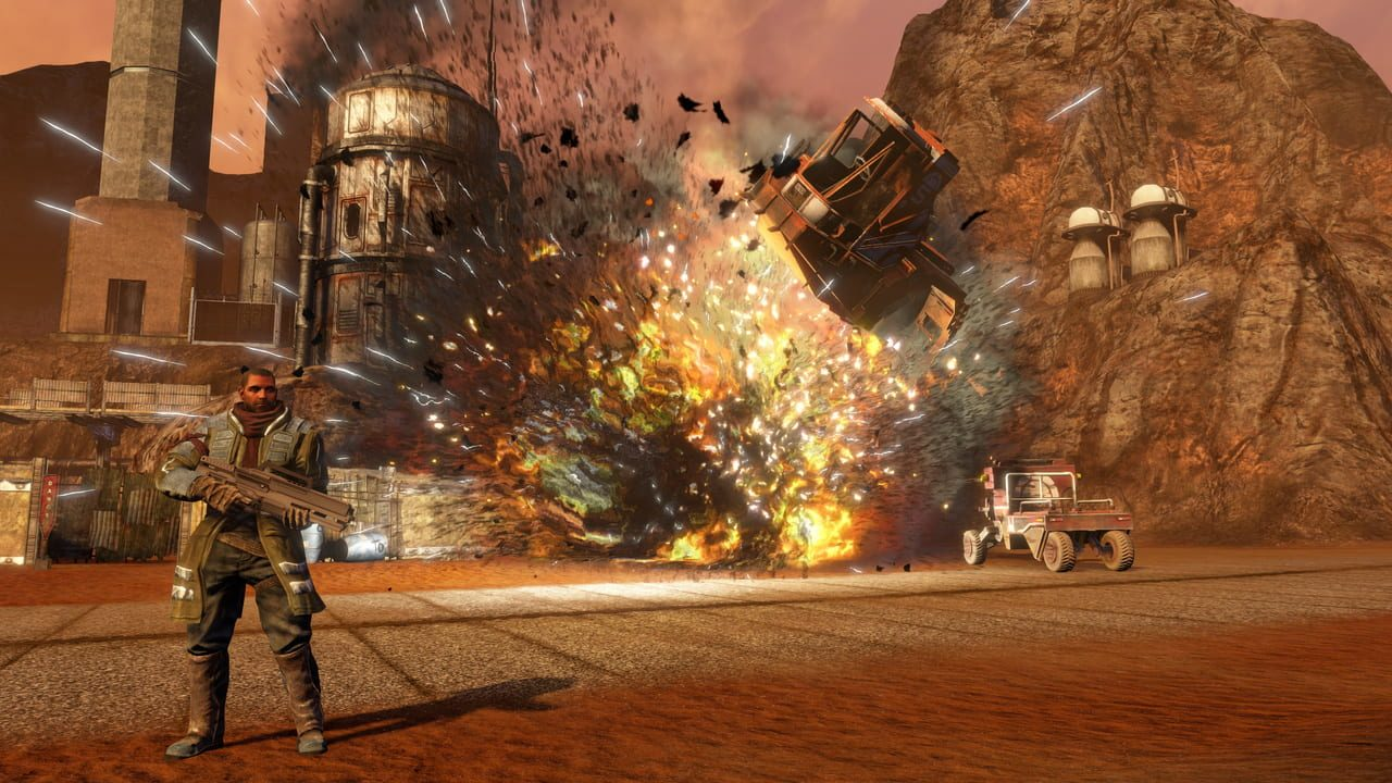 Скриншот Red Faction Guerrilla Re-Mars-tered (2018) PC