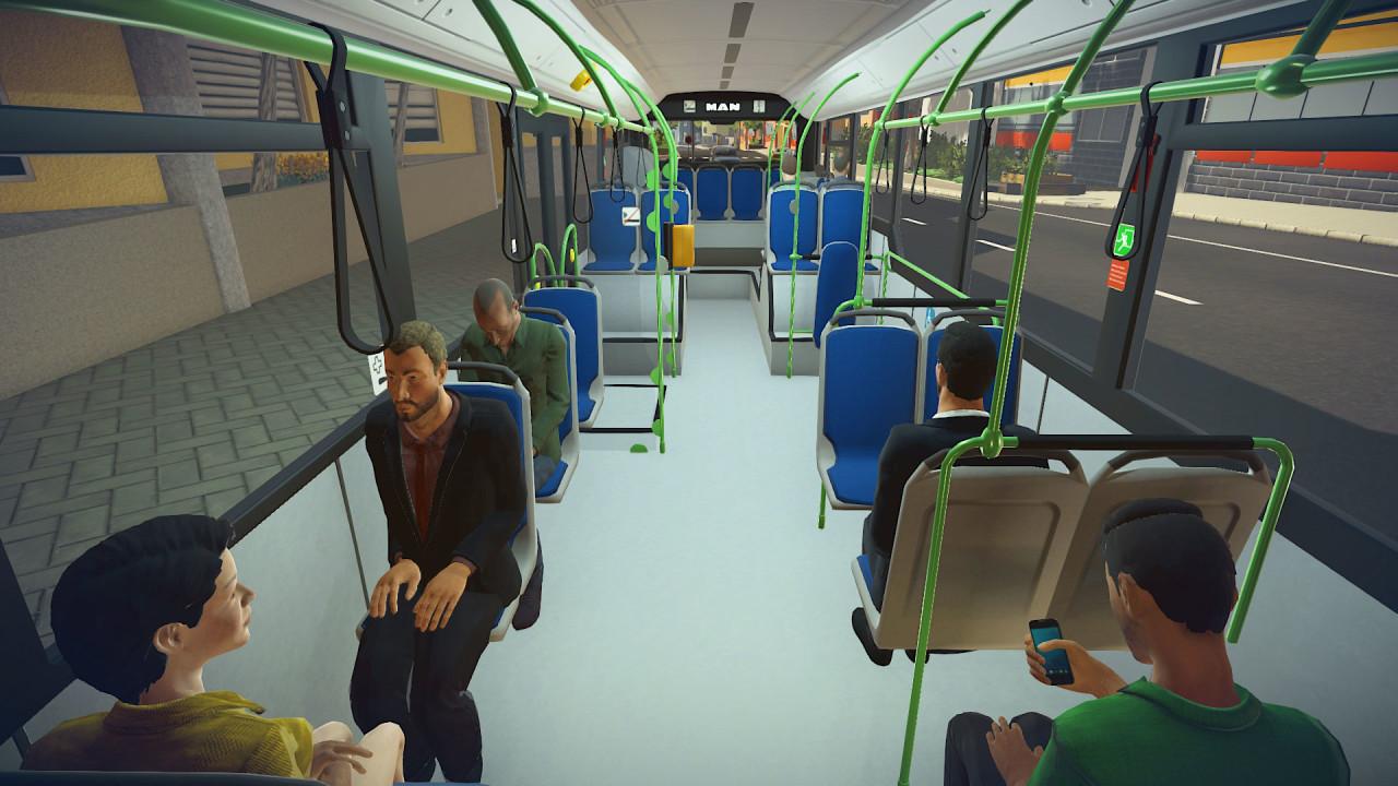 Скриншот Bus Simulator 16 [Update 2 + 1 DLC] (2016) PC | RePack от R.G. Механики