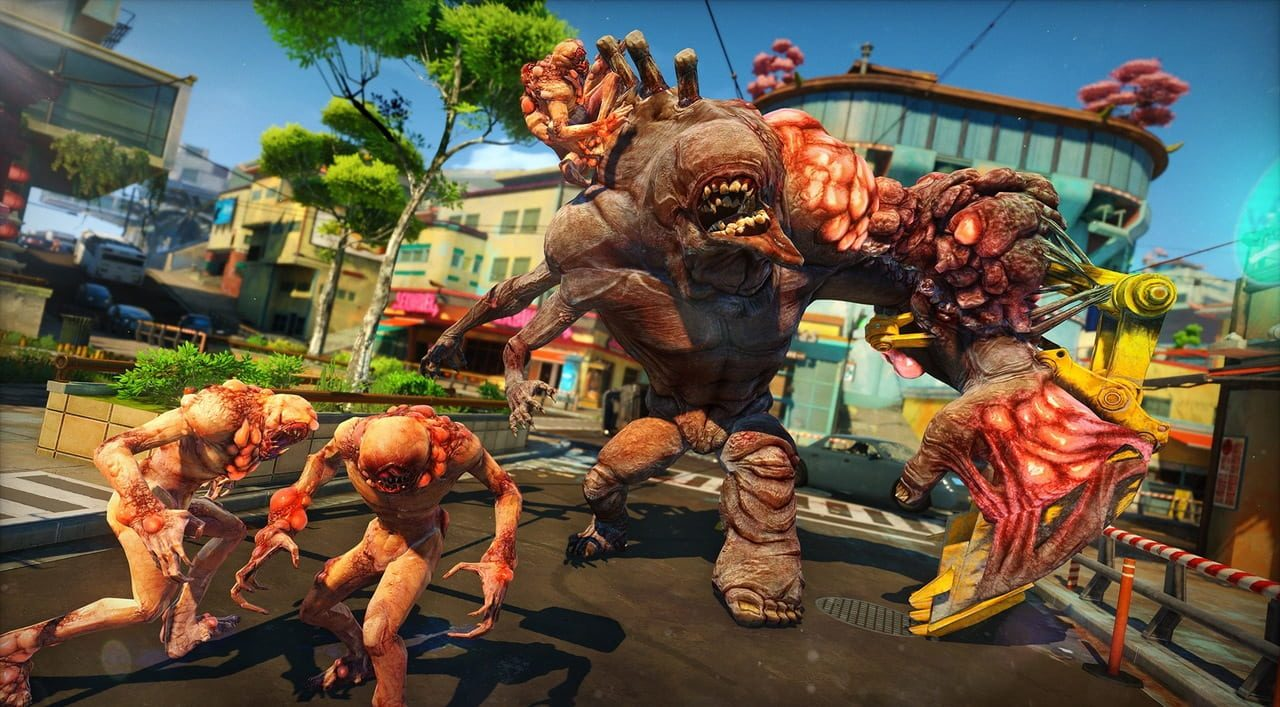 Скриншот Sunset Overdrive (2018) PC