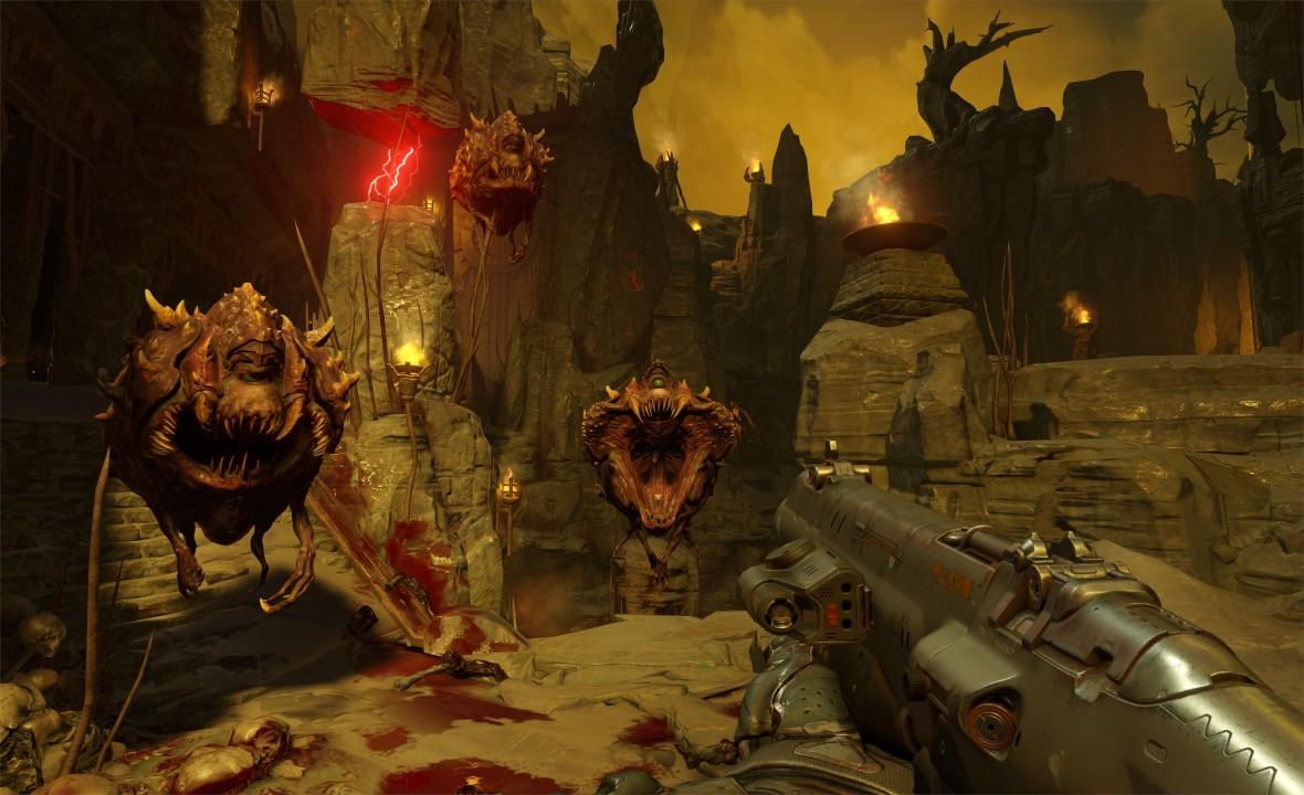 Скриншот Doom (2016) PC | RiP от R.G. Механики