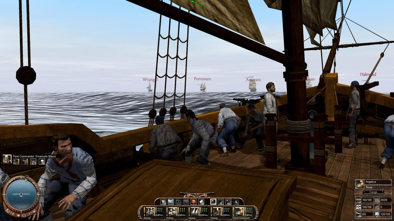 Скриншот East India Company. Gold Edition (2009) PC