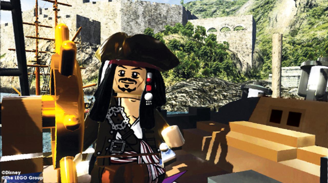 Скриншот LEGO Пираты Карибского моря / LEGO Pirates Of The Caribbean (2011) РС   RePack от R.G. Механики