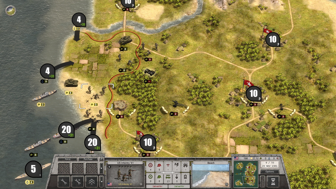 Скриншот Order of Battle: World War 2 [v.6.1.7 + 10 DLC] (2016) PC