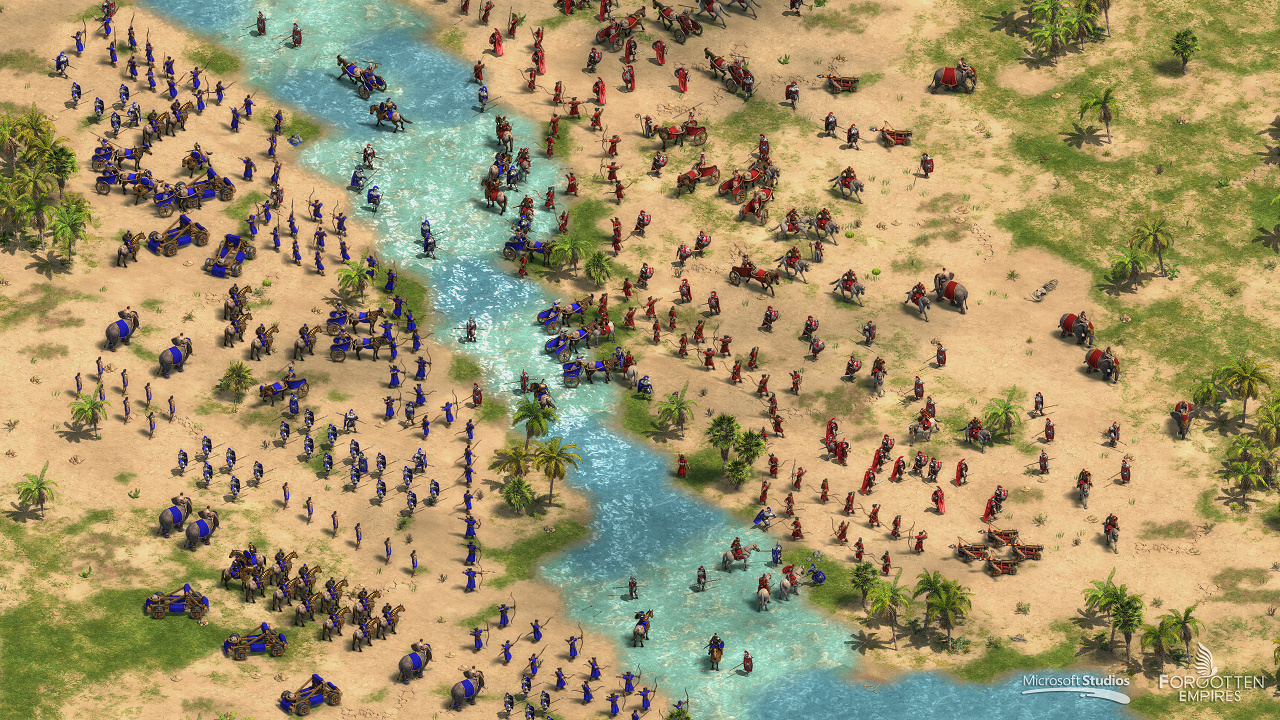 Скриншот Age of Empires: Definitive Edition (2018) PC