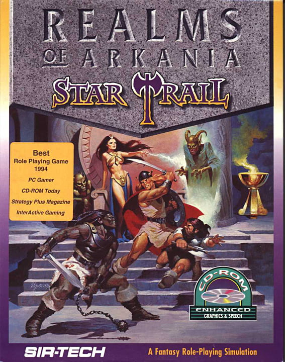 Realms of Arkania: Star Trail (1994) PC