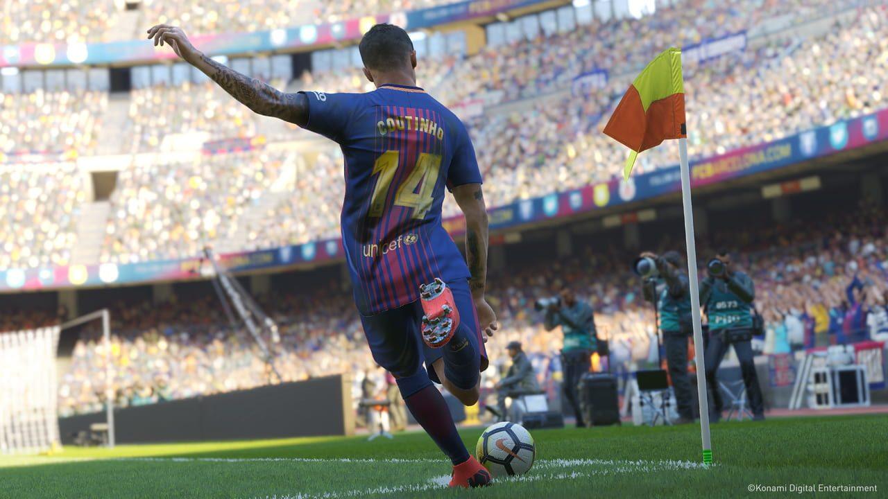 Скриншот Pro Evolution Soccer 2019 (2018) PC