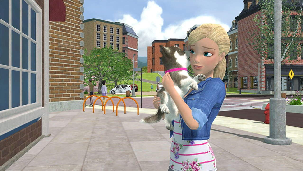 Скриншот Barbie and Her Sisters: Puppy Rescue (2015) PC