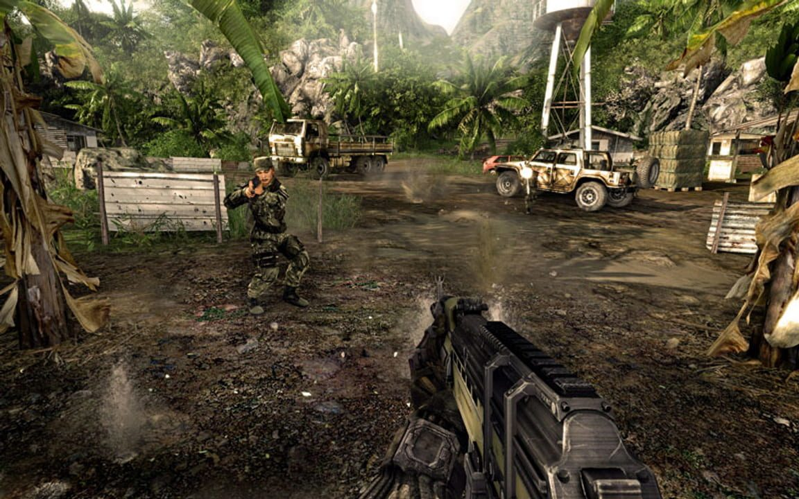 Скриншот Crysis Warhead (2008) PC