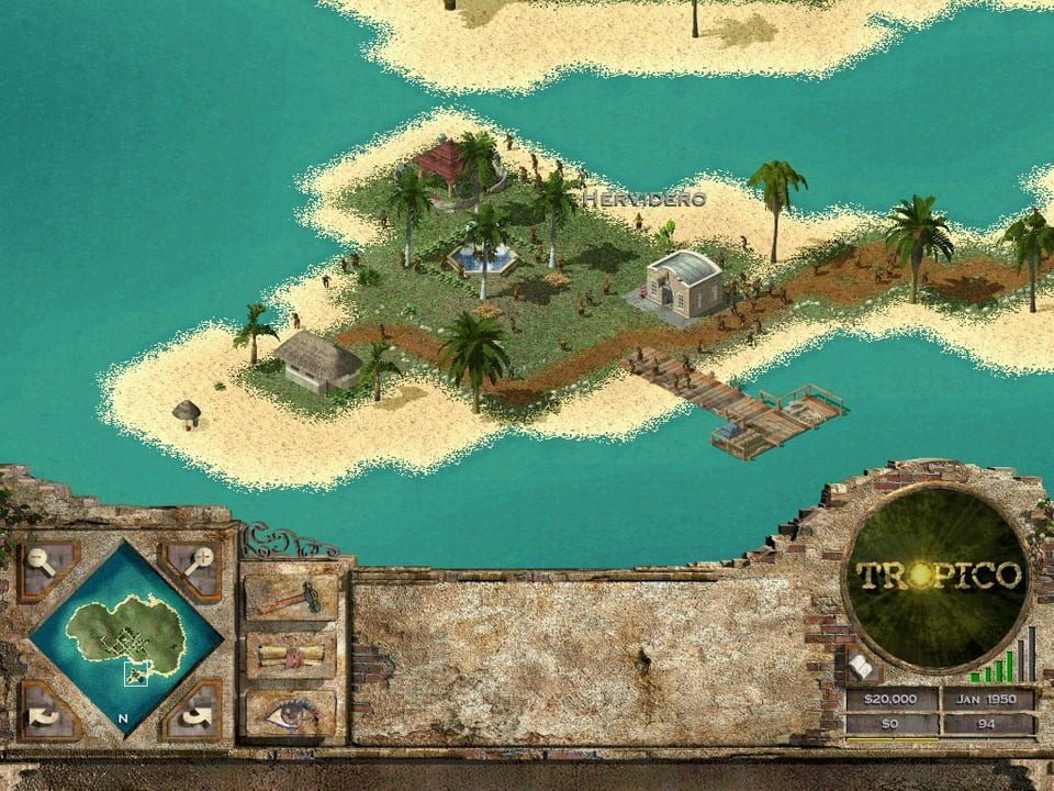 Скриншот Tropico 2: Pirate Cove (2003) РС
